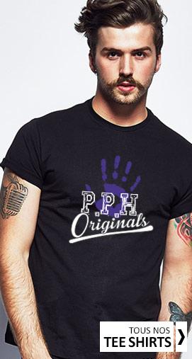 Les tee shirts gays et lesbiens Purple Hand
